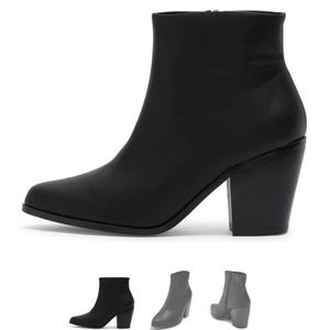 Black Chase + Chloe Ankle Boots 🖤